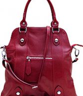 Bolotana Leather Crossbody Satchel