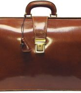 Ciabatta Men's Italian Leather Briefcase Bag