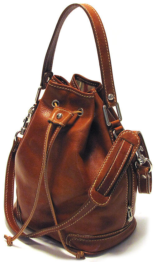 Ciabatta Italian Leather Satchel Handbag