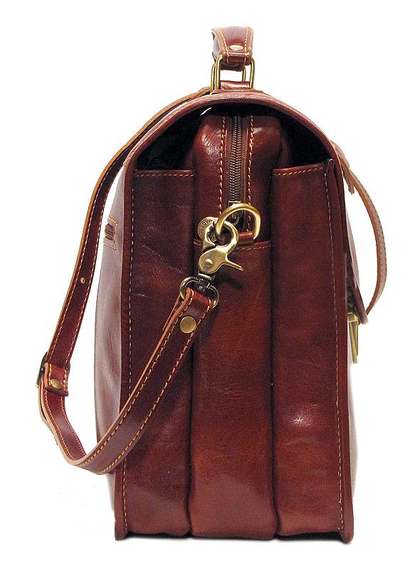 Cortona Laptop Briefcase Bag - Fenzo Italian Bags 20ba6ebf4da30