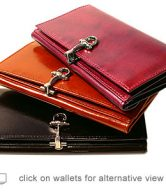 Women's Leather Wallets and Accessories