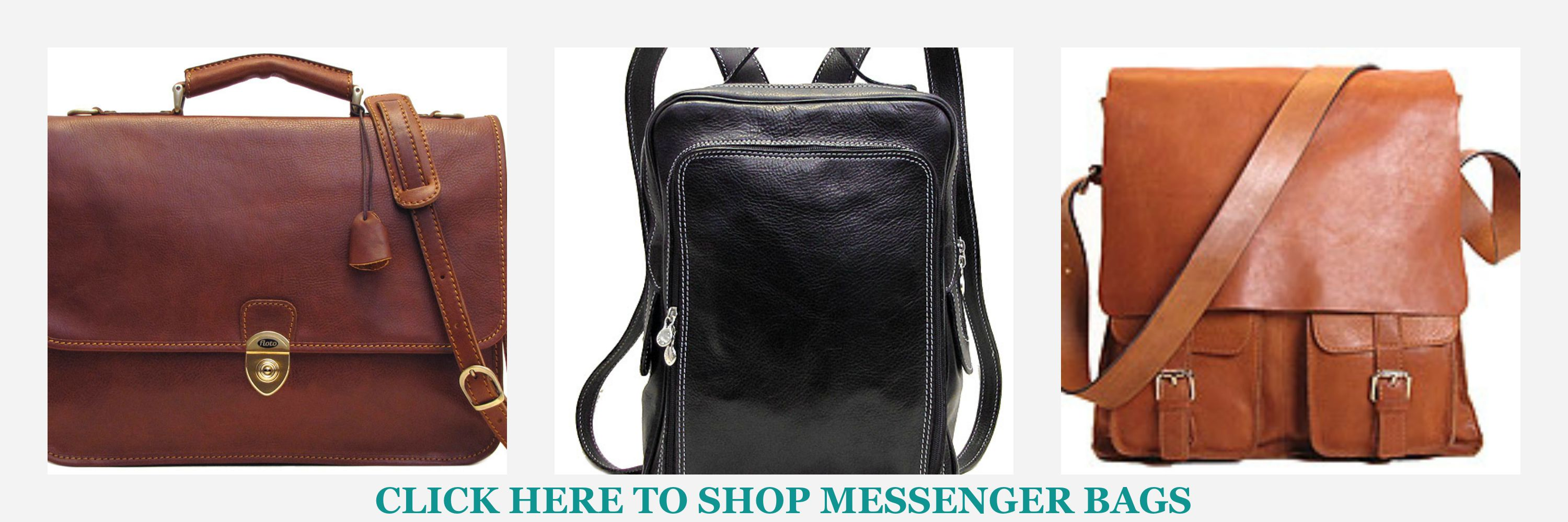 Mens Leather Messenger Bags