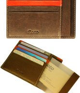 Milano Leather Card Case