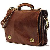 Men's Leather Messenger Bag