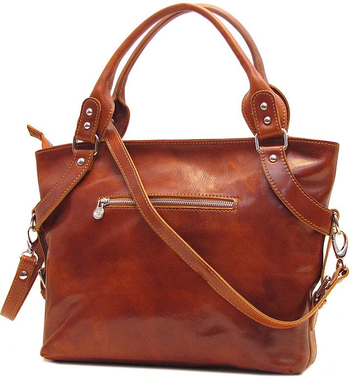 Taormina Italian Leather Handbag - Fenzo Italian Leather ...