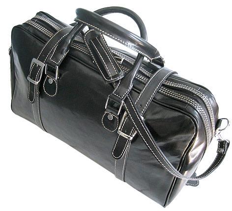 Trastevere Men's Italian Leather Duffle Bag