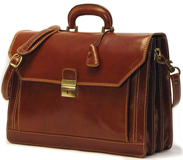 venezia italian leather briefcase bag fenzo italian bags