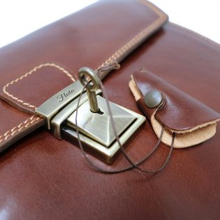 Leather Briefcase Bag