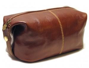 Venezia Italian Leather Travel Kit