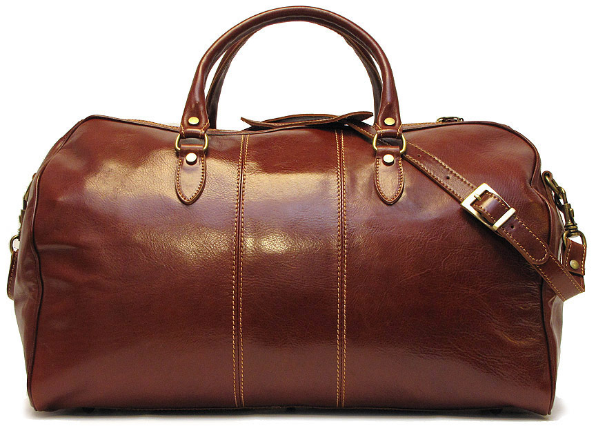 venezia mens italian leather duffel bag fenzo italian bags