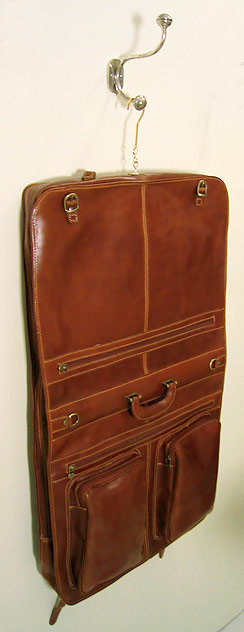 Venezia Italian Leather Garment Bag Fenzo Italian Bags