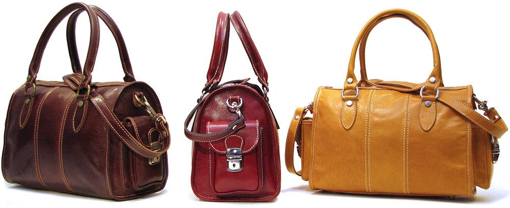 Home Shop Women's Italian Leather Purses and Handbags Crossbody Bags ... Makeitright