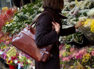 Italian leather purses