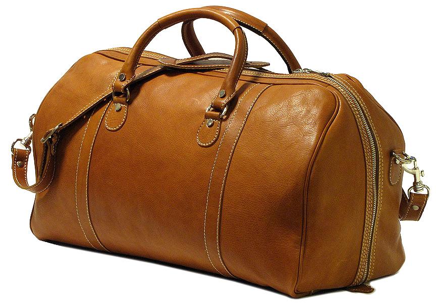 419771d39ca8 Parma Italian Leather Duffel Bag - Fenzo Italian Bags