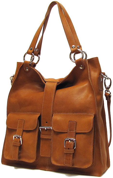 Livorno Italian Leather Satchel