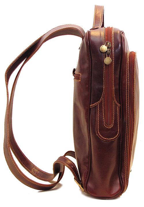 Milano Italian Leather Backpack Fenzo Italian Bags