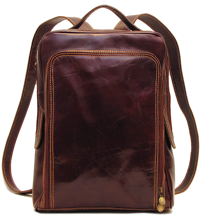 Milano Italian Leather Backpack - Fenzo Italian Bags