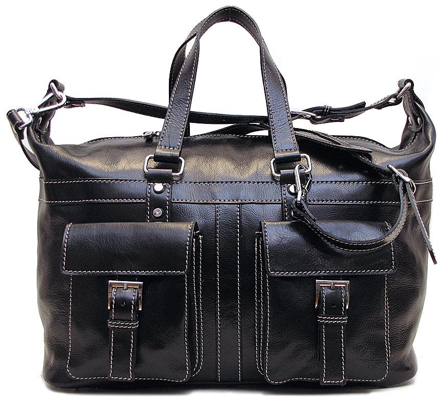 Milano Italian Leather Travel Bag Fenzo Italian Bags