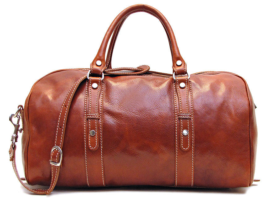 Venezia Piccola Leather Duffle Bag