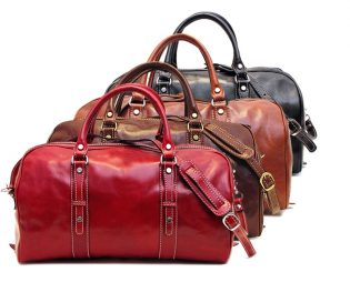 Leather Duffle Bag