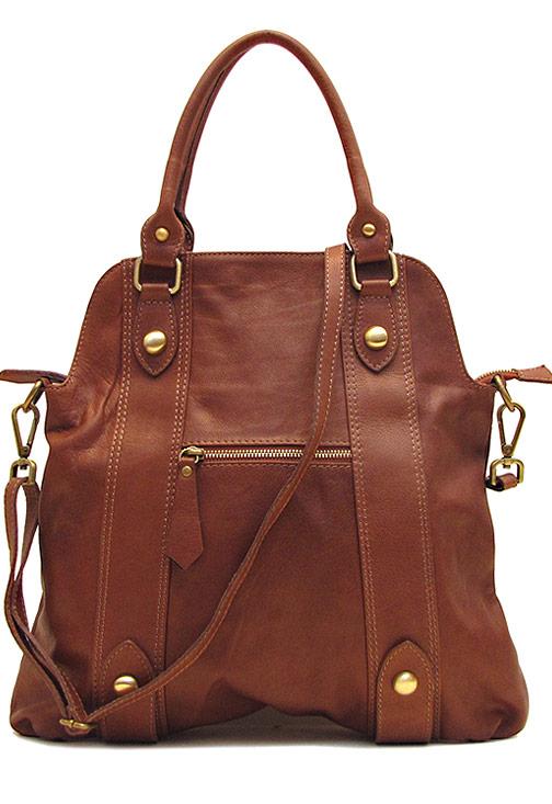 Bolotana Leather Crossbody Satchel - Fenzo Italian Bags 26a035b219