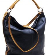 Pebbled Leather Tote