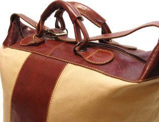 Italian Canvas Tote Bags