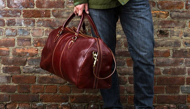 Venezia Italian Leather Duffel Bag