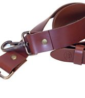Italian Leather Luggage Straps