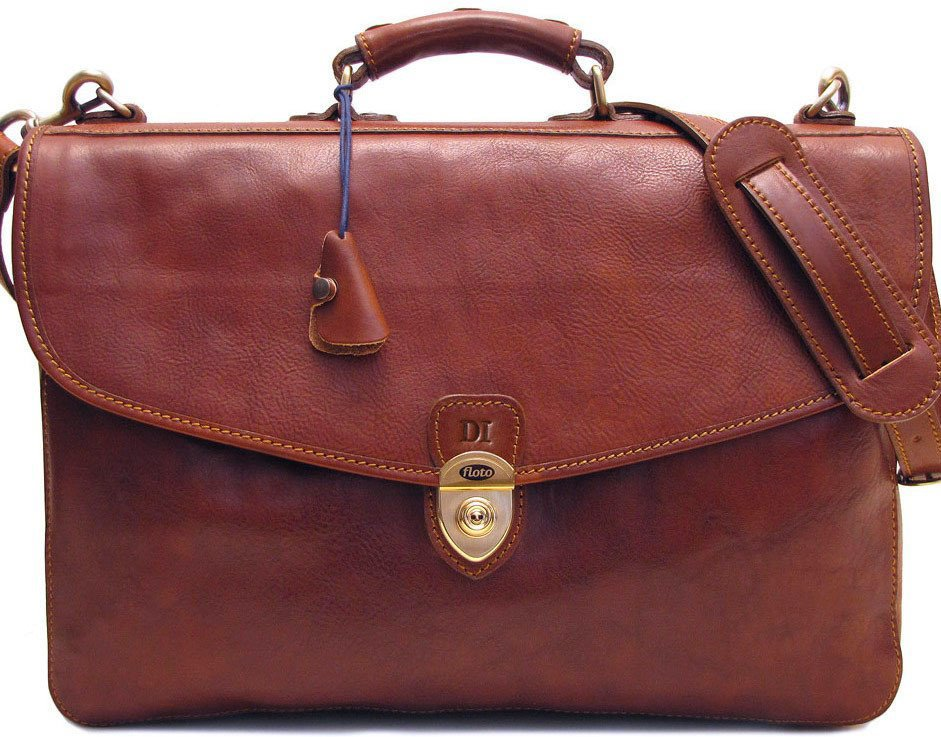 1ac3f2732 Floto Leather Dopp Bags For Men. FLOTO Italy FIRENZE BRIEF Vtg Leather  Professional Briefcase Bag ...
