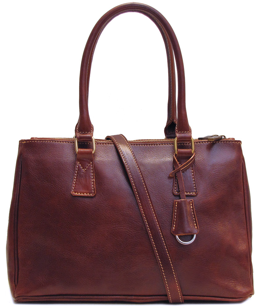 Roma Italian Leather Satchel