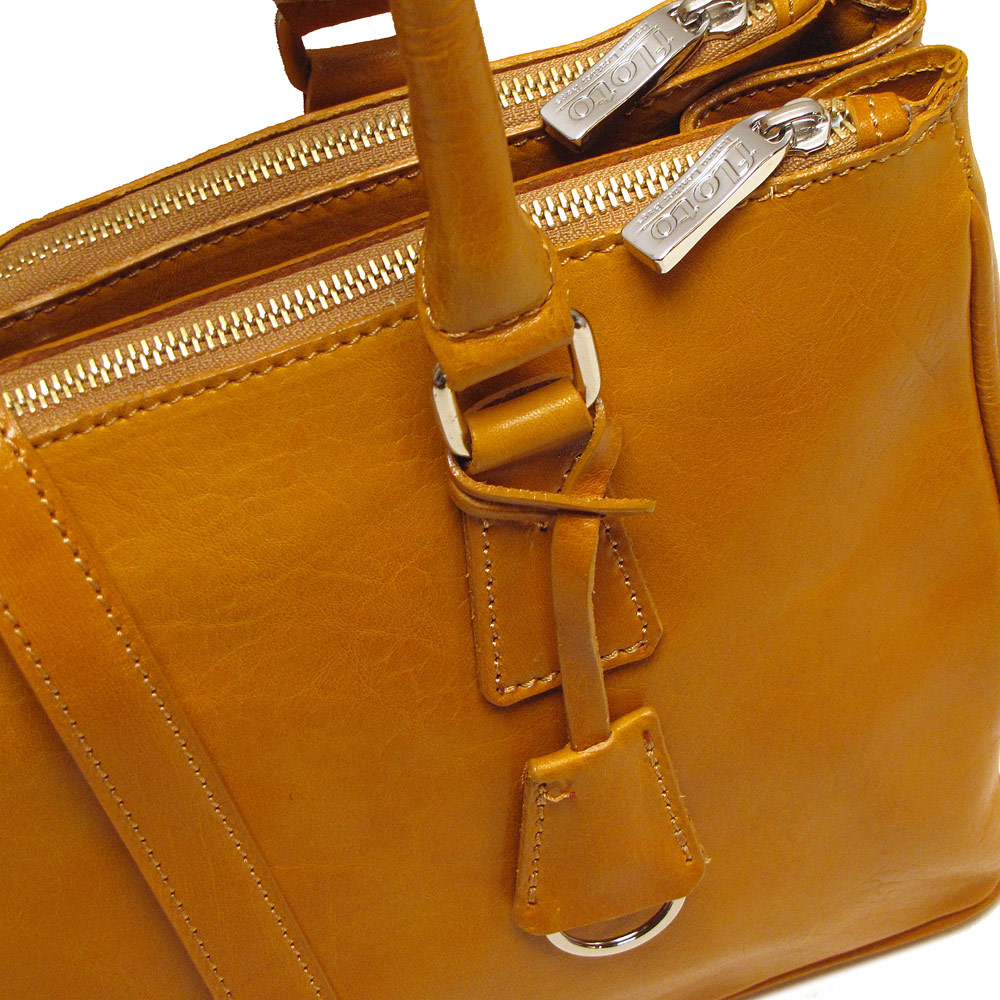 Roma Italian Leather Satchel Fenzo Italian Bags