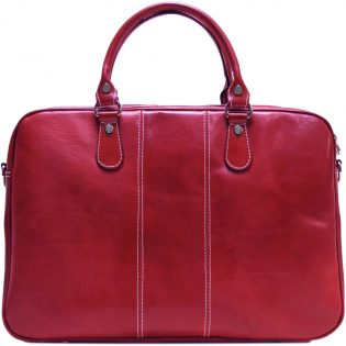 Slim Leather Briefcase