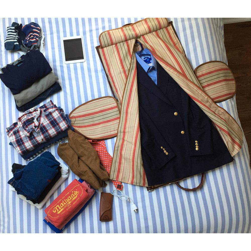 Garment Duffel Bags