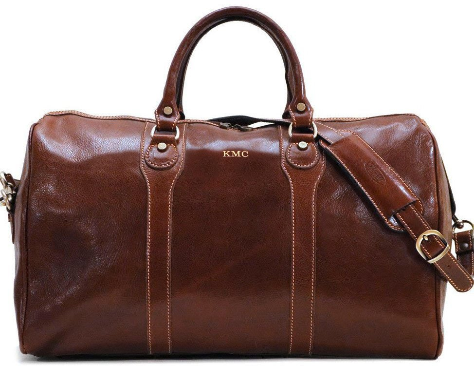milano italian leather duffle bag fenzo italian bags