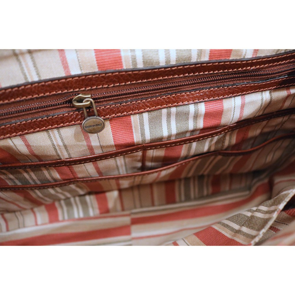 Floto Vaggo Messenger Bag in Khaki