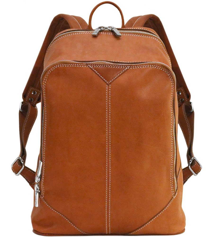 Parma Leather Laptop Backpack