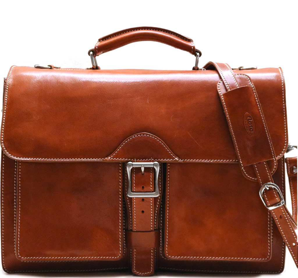 649a61587f Novella Executive Leather Briefcase - Fenzo Italian Bags