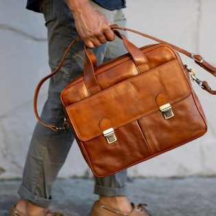 Leather Computer Bag
